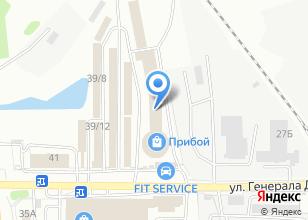 Компания «ИнструментЛес» на карте