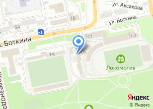 Компания «ГЕНПРОЕКТ» на карте