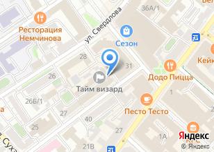 Компания «Технотрейд» на карте