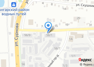 Компания «Стандарт 600» на карте