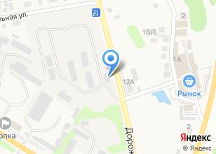 Компания «Топкинский Бетон» на карте
