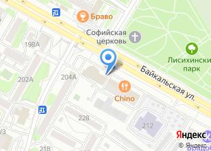 Компания «Шнейдер Электрик» на карте