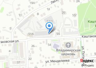 Компания «Мастер-вент» на карте