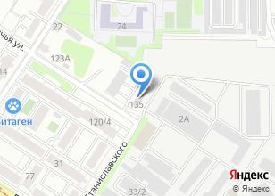 Компания «УБМ» на карте