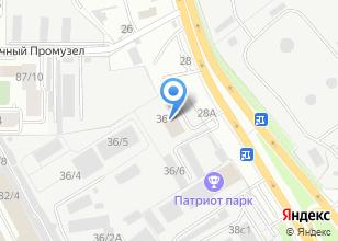 Компания «Аркуда» на карте