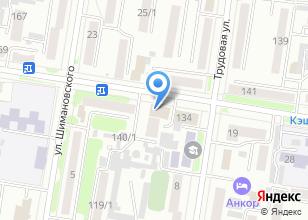 Компания «Sensation» на карте