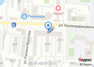 Компания «Газстройпроект» на карте