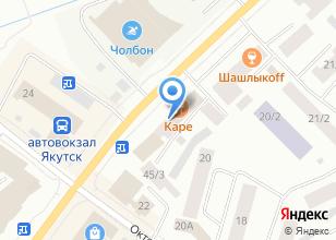 Компания «Киви-клиник» на карте