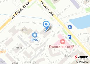 Компания «Поликлиника профилактического осмотра» на карте