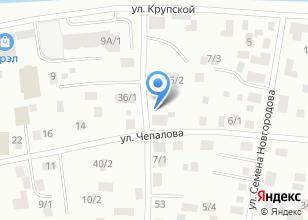 Компания «Залог» на карте