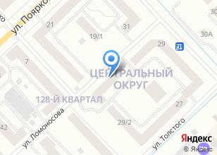 Компания «БИЗНЕС-ОЦЕНКА» на карте