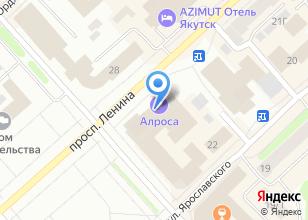 Компания «Якутпроект» на карте