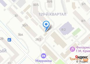 Компания «Геоземкадастр» на карте