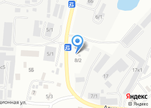 Компания «Техно» на карте
