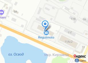 Компания «Уссури» на карте