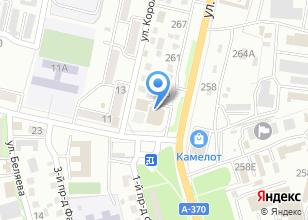 Компания «Автонародный» на карте