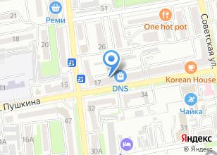 Компания «СпортЛига» на карте