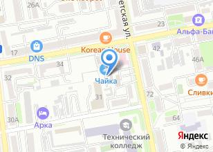 Компания «Автостоянка на Пушкина» на карте