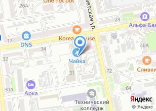Компания «Автомойка на Пушкина» на карте