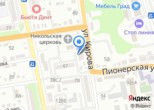 Компания «Авто Д`Ко» на карте