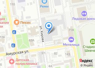Компания «Авторемзавода» на карте