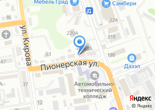 Компания «АккуЗон» на карте