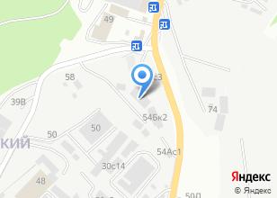 Компания «Трансэкспресс» на карте