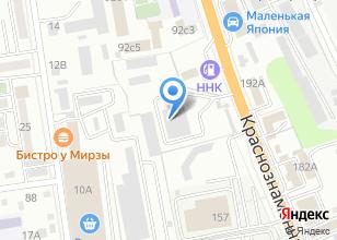 Компания «Accu Zone» на карте