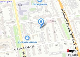 Компания «Автостоянка на Пролетарской» на карте