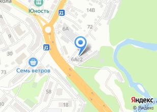 Компания «Шинный двор» на карте