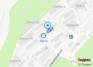 Компания «Техно Сервис ДВ» на карте