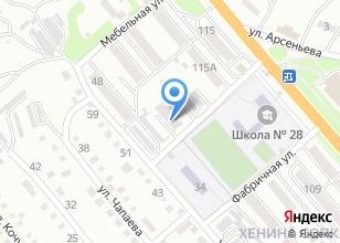 Компания «Автомойка на Угловой» на карте