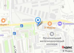 Компания «ВостокМазАвтоДизельСервис» на карте