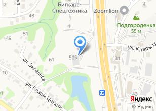 Компания «ДВВ сервис» на карте