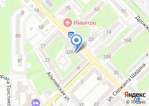 Компания «МультиБытСервис» на карте