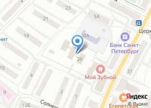 Компания «Ванда» на карте