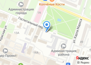 Компания «Стомамедсервис» на карте