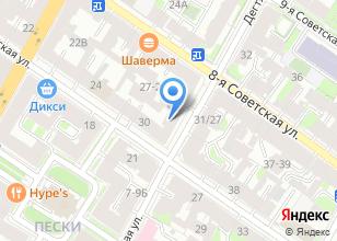 Компания «Оформитель-СПб» на карте