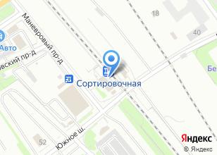 Компания «Сортировочная» на карте