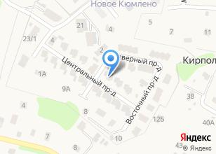 Компания «Строящийся коттеджный поселок по ул. Большая Сосновская (Кирполье)» на карте