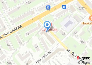Компания «ТЕХАВТОПРОМ» на карте