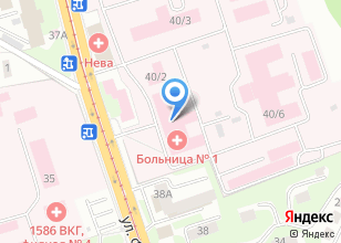Компания «Частная служба скорой помощи,медицинские перевозки» на карте