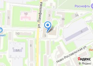 Компания «РосБерлио» на карте