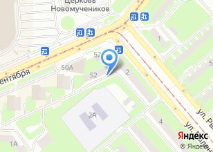 Компания «ЦЕНТРТРАНСТЕЛЕКОМ» на карте