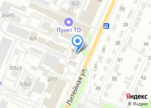 Компания «Спецавтоматика» на карте