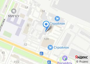 Компания «Техномастер» на карте