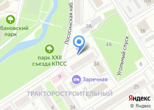 Компания «Карелика» на карте