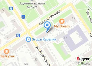 Компания «Золотое кольцо Карелии» на карте