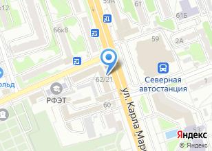 Компания «Логотип» на карте