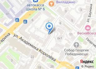 Компания «Унилаб» на карте